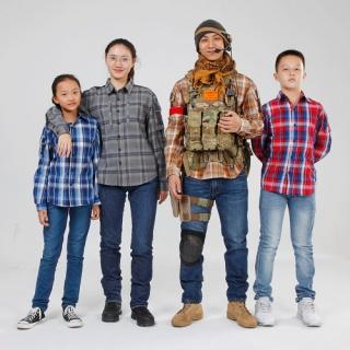 Plaid Tactical Shirt